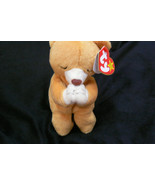 Ty Original Hope Praying Bear Beanie Baby Hand Tag1998/Tush Tag1999 Erro... - $197.99
