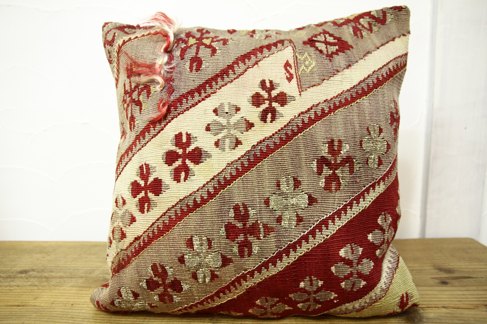 Kilim Pillows | 16x16 | Turkish pillows | 458 | Accent Pillows , kilim cushion