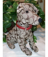 Coach Signature Stuffed Dog Jack Russell Toy JRT 8443  - $89.00