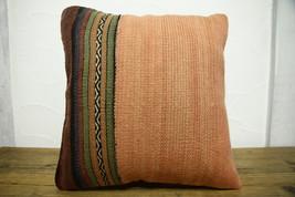 Kilim Pillows |16x16 | Decorative Pillows | 460 | Accent Pillows turkish... - $35.00