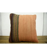 Kilim Pillows |16x16 | Decorative Pillows | 460 | Accent Pillows turkish... - $35.00