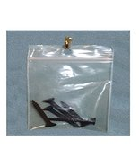 """#2RB912H Reclosable Bags With Hang Hole 9"""" x 12"""" Clear 2 Mil 200 Pieces - $27.39"""