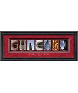 """Chicago """"The Windy City"""" Framed Letter Art Print - $39.95"""
