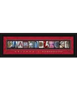 Arizona Diamondbacks (D'Backs) Framed MLB Letter Art Print - $39.95