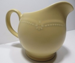 "Pfaltzgraff Golden Pearls 5"" Large Gravy Boat Pitcher Yellow Stoneware Usa Htf - $29.65"