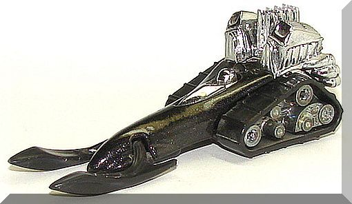1995 Big Chill Limited Edition Collectible Mattel 15243 Hot Wheels Collector #400 Silver Metallic Dark Rider Series II