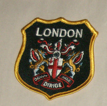"""London Dirige 3"""" Embroidered Sewn World Travel Patch Free Shipping USA - $12.95"""