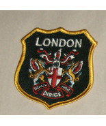 "London Dirige 3"" Embroidered Sewn World Travel Patch Free Shipping USA - $12.95"