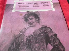 Bizet Carmen Suite Austrain Symphony Orchestra Record Album - $4.49