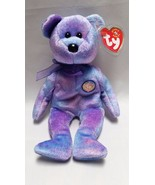 Ty Beanie Baby Clubby 4 Bear Stuffed Animal Plush Swing Tag IV Retired P... - $9.97