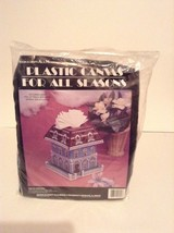 NIP Needlecraft Art Project Plastic Canvas Victorian Pop Up Tissue Box C... - $14.01