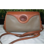 Dooney Bourke Zip Top Shoulder Crossbody Bag Ta... - $38.00