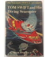 Tom Swift and the Diving Seacopter Victor Appleton 1956 HCDJ - $14.75