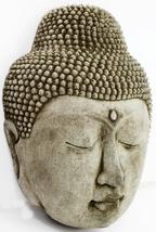 Buddha Face Concrete Wall Plaque  - $69.00