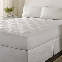 Warmth Feather Down Alt Mattress Topper Protection Pad All Size Down Cus... - $43.55+