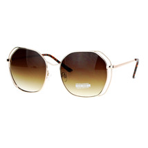 Chic Designer Fashion Sunglasses Womens Square Metal Frame UV 400 - $11.95