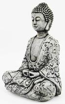 Lotus Buddha Concrete Statue - $74.00