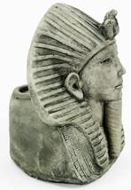 Egyptian Pharaoh Concrete Candle Holder  - $59.00