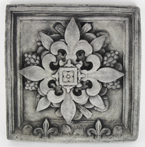 French Concrete Wall Plaque  - $59.00