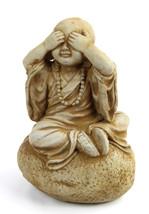 See No Evil Concrete Statue  - $49.00