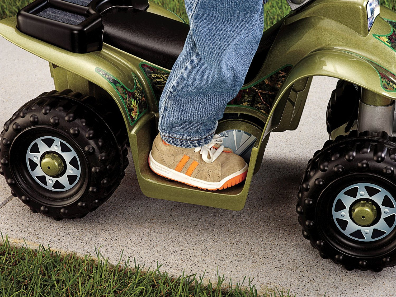 Power Wheels Four Wheeler : Power wheels camo quad four wheeler play ride on toy