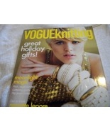 Vogue Knitting Holiday 2008 Magazine - $10.00