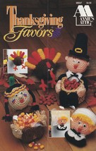 Thanksgiving Favors, Annie's Crochet Pattern Booklet 8B047 Doorknob Hang... - $5.95