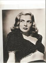 Screen Legend -- Lizabeth Scott 8 x 10 B&W photo - $4.95