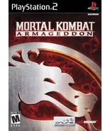 Mortal Kombat Armageddon PS2 Great Condition Complete Fast Shipping - $9.93