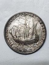 1920 Pilgrim Commemorative Silver Half Dollar Coin Lot# 918-4