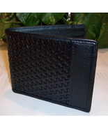 Bosca Men's Executive Leather ID Wallet Black M... - $34.00