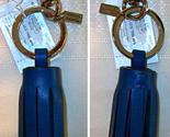 62376 single legacy tassel keyfob charm blue front back 1 thumb155 crop