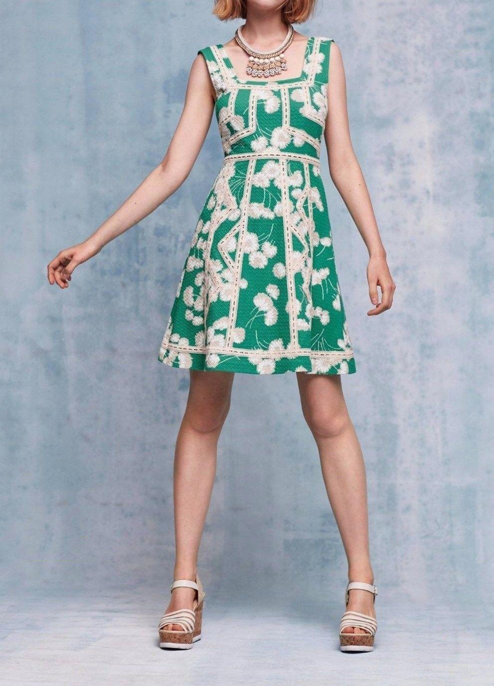 Anthropologie Emma Dress by Maeve $138 Sz 2  - NWOT
