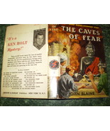 Rick Brant #8- The Caves of Fear- Dust Jacket- ... - $29.95