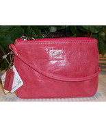 Coach Pop Poppy Leather Small Wristlet 46479 Ca... - $29.00