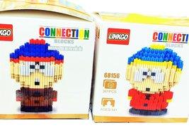 New Building Blocks South Park Eric Cartman Toy Stan Marsh Nanoblock Dia... - $39.55