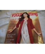 Vogue Knitting Holiday 2007 Magazine - $10.00