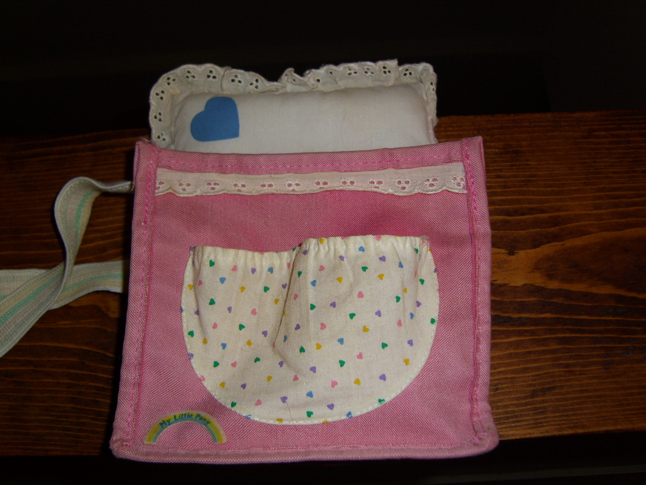 My Little Pony G1 purse for BBE Baby Sleep Pie