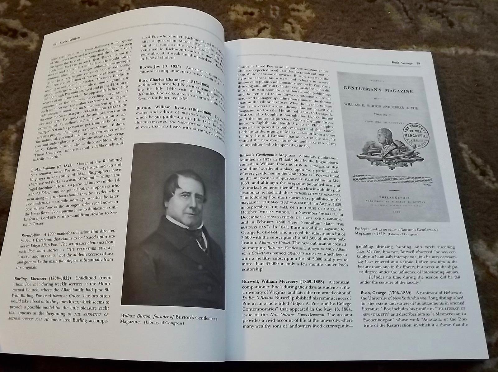 Edgar Allan Poe A to Z and Edith Wharton A to Z