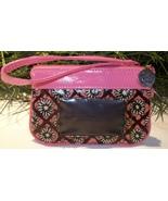 Vera Bradley Frill Zip ID Case Wristlet Wallet ... - $19.00