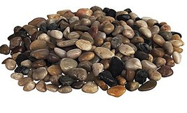 Ikea Knaster Multicolor Washed Decorative Small Stones Rocks 2 Lbs Bag - £7.38 GBP