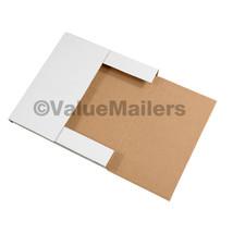 50 - 9 5/8 x 6 5/8 x 1 1/4 White Multi Depth Bookfold Mailer Book Box Bo... - $30.50