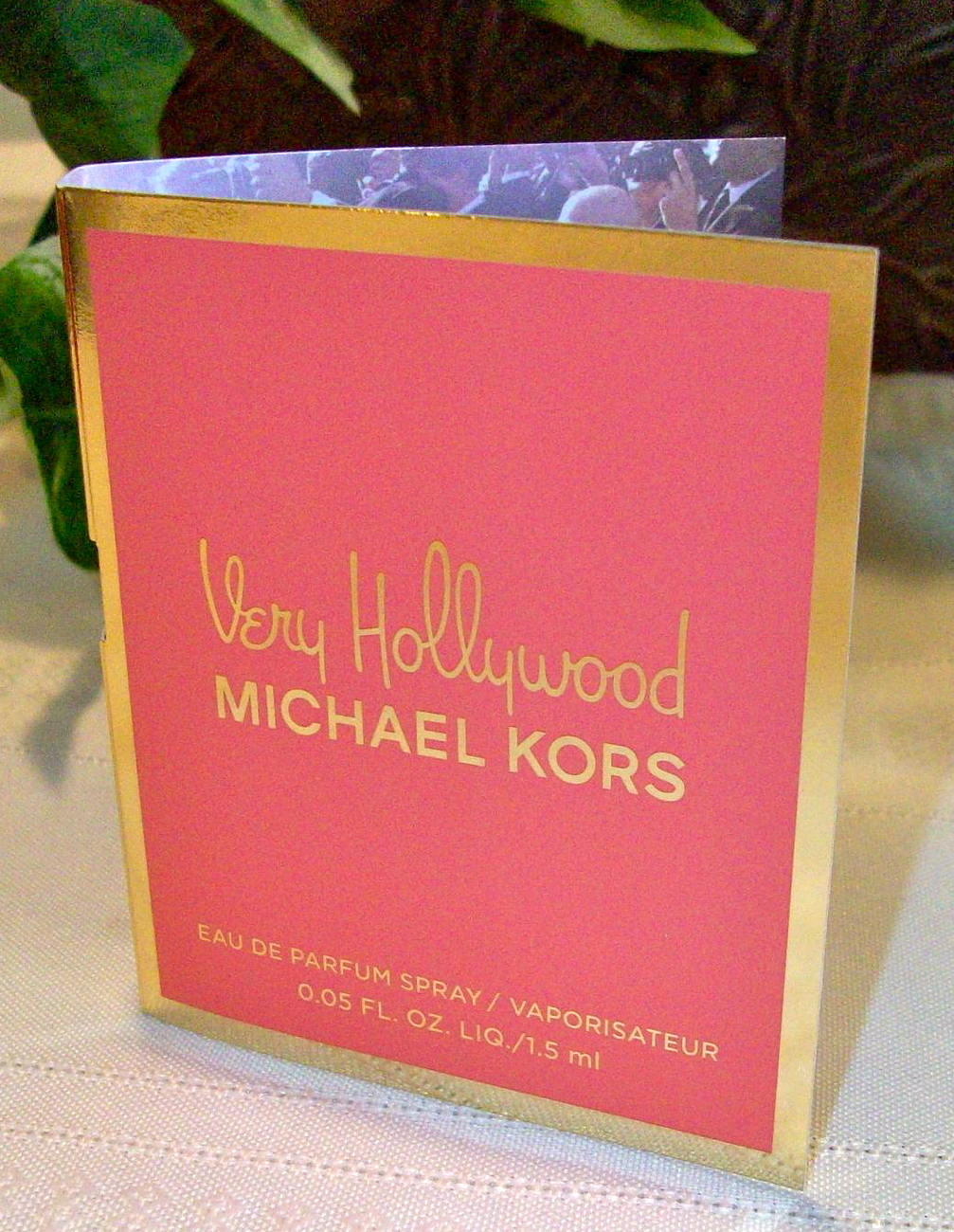 Michael Kors Fragrance Very Hollywood Spray Sample .05 oz