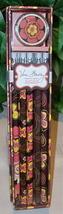 Vera Bradley Pencil Box Set Buttercup 10 #2 Pencils with Sharpener NIP - $6.95