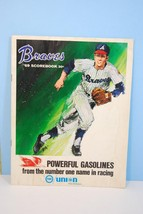 1969 Atlanta Braves Baseball Scorecard Unscored - $12.00
