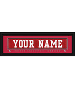 "Boston University ""Terriers"" Personalized Stitched Jersey Nameplate Fram... - $39.95"