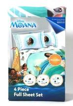 Jay Franco & Sons Disney Moana 4 Piece Microfiber 100% Polyester Full Sh... - $37.99