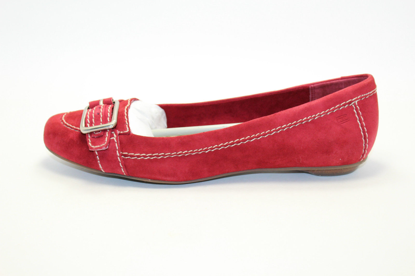 Tommy Hilfiger - Womens Red - Flats Loafers Slippers - New in Box