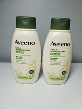 Set of 2 - Aveeno Daily Moisturizing Body Wash - 12 oz each - NEW - $24.75