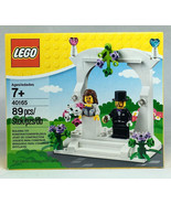 Lego 40165 Wedding Cake Topper Favor Set Bride & Groom Minifigs NEW - $17.62